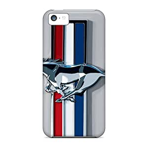 Iphone 5c TOV19674amAo Provide Private Custom Attractive Ford Mustang Logos Pictures Great Hard Phone Cases -JonathanMaedel
