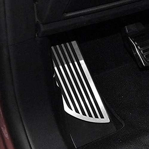 Copri Pedale Poggiapiedi Fransande Pedale Car Styling Pediera per Alfa Romeo Giulia Stelvio