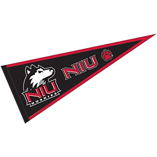 College Flags and Banners Co. Northern Illinois University Pennant Full Size Felt