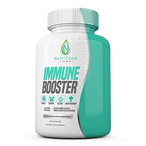 IMMUNE BOOSTER - Premium Immune System Support - Build and Strengthen Your Body's Natural Immunity Protection – 60 Vegetarian Capsules w/ Bioperine®