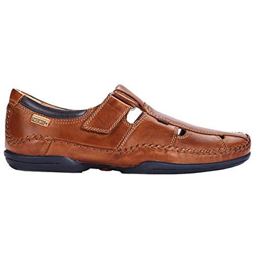 Pikolinos Mens Puerto Rico Leather Shoes Brown