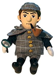 Sherlock Holmes Plush Little Thinker Doll - by The Unemployed Philosophers Guild
