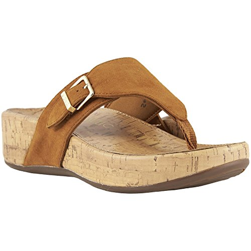 Marbella Womens Vionic Caramel Sandals Pacific Suede wHdqEa8