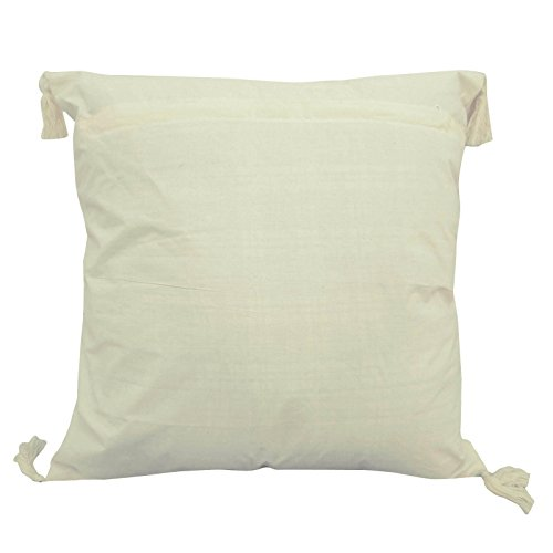"Indian Pillow Owl Patchwork Sofa Cushion Covers White Pillow Case Throw 24"" X 24"""