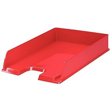 Leitz Bandeja portadocumentos Europost VIVIDA de Esselte, estándar, A4, Rojo, 623607: Amazon.es: Oficina y papelería