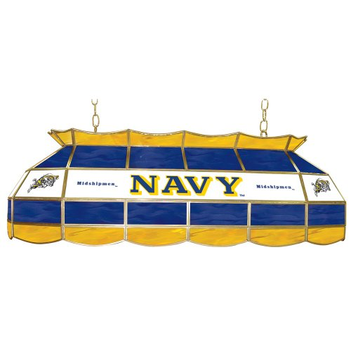 Navy Midshipmen Pool Table Light, Navy Billiards Table