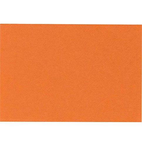 A7 Flat Card (5 1/8 x 7) - Mandarin Orange (1000 Qty.) by Envelopes Store