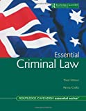 Australian Essential Criminal Law, Penny Crofts, 1876905220
