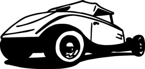 Amazon.com: Rods N Rides Vehicle Vector Clipart Vinyl Cutter Slgn ...