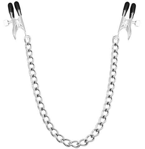 Bondage Nippelklammern Nippelklemmen lange Version einstellbar Brust Nippel Klammern Klemmen