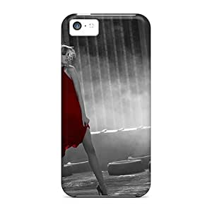meilz aiaiNew Design Shatterproof XWR9129CZZu Cases For ipod touch 5 (red Dress)meilz aiai