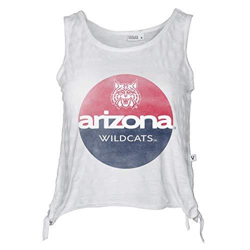 Official NCAA Arizona Wildcats - Women's Cropped Side Tie Tank