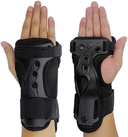 JUSTDOLIFE JUSTDOLIFE 1 Pair Ski Wrist Guard Creative Adjustable Protective Wrist Support Wrist Brace