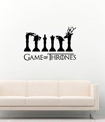 Game Of Thrones ?hess Houses Vinyl Wall Decals Movie Film Vinyl Stickers Vinyl Decor Murals MK3191