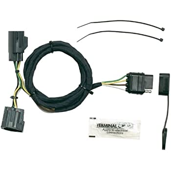 411CGKXFCzL._SL500_AC_SS350_ amazon com genuine jeep accessories 82210213 trailer tow wiring jeep jk trailer wiring harness at gsmportal.co
