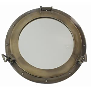 411CGS6rqUL._SS300_ 100+ Porthole Themed Mirrors For Nautical Homes For 2020