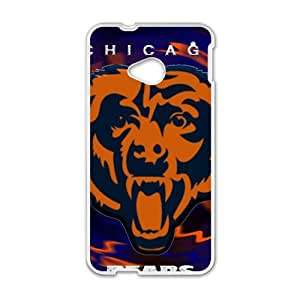 Chicago Bears Fashion Comstom Plastic case cover For HTC One M7