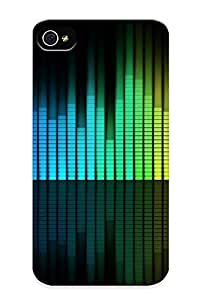 Series Skin Case Cover Ikey Case For Iphone 4/4s(neon Equalizer )