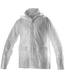 c67ffea1a36 Amazon.com  Augusta Sportswear Kids  Clear Rain Jacket  Sports ...