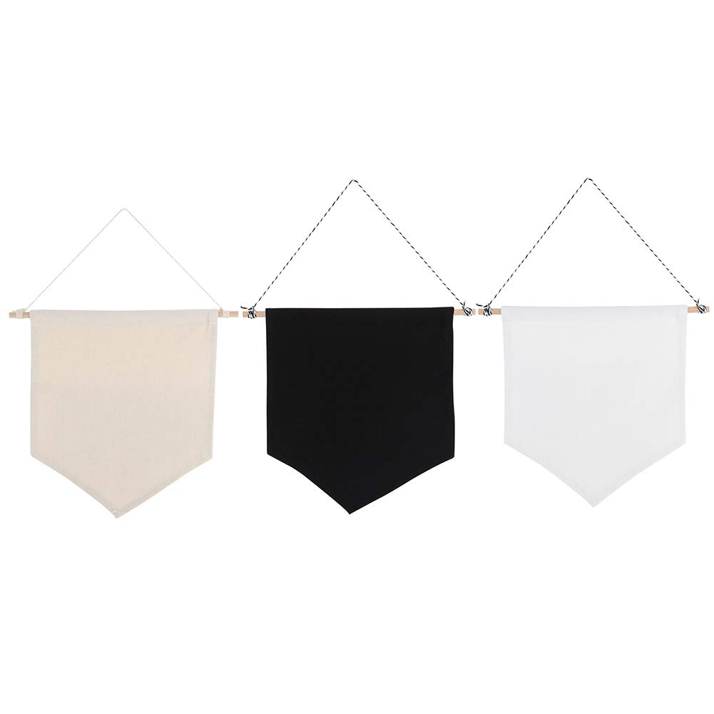 Exquisite Pin Pennant Banner Brooches Flag Pin Display Wall Banner for Bedroom