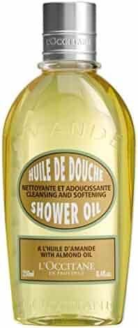 L'Occitane Cleansing & Softening Almond Shower Oil, 8.4 fl. oz.