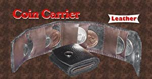 Coin Carrier - Leather for Magic Tricks