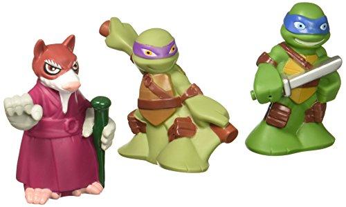 Bathtub Squirters - Teenage Mutant Ninja Turtles Pre-Cool Half Shell Heroes Leonardo, Donatello and Splinter Bathtub Squirter Figure (Pack of 3)