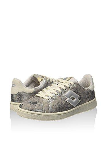 Metallic Sneakers Lotto Crackle Autograph Suede Women Silver 0EfOqE