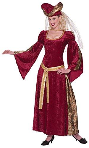Forum Novelties Women's Ladies Of Royal Design Lady Anne Costume, Multi, One Size