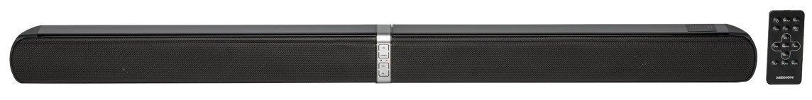 MEDION E64058 Inalámbrico 20W Negro Altavoz soundbar - Barra de Sonido (20 W, 20 W, 3,18 cm (1.25
