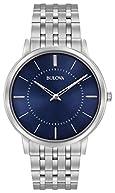 Bulova Men's Dress Stainless Steel Bracelet Watch