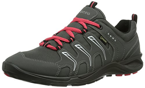 Ecco Terracruise Black/Black Synthetic/Textil 841043 - Zapatillas de fitness para mujer, color gris, talla 36 Gris (DARK SHADOW/DARK SHA/TEABERRY58694)