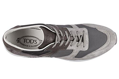 Tods Zapatos Zapatillas de Deporte Hombres EN Ante Nuevo Active Sportivo Gris