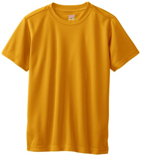 Soffe Big Boys' Dri Tee, Light Gold, Medium by Soffe