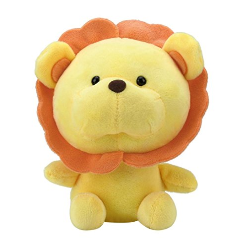 Gbell Child Kids Toddler Baby Stuffed Toy Soft Fluffy Doll Plush Doll Sunflower Lion Toy (Yellow)