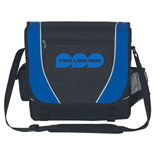 Messenger Bag - 50 Quantity - $8.85 Each - PROMOTIONAL PRODUCT / BULK / BRANDED with YOUR LOGO / CUSTOMIZED by CloseoutPromo
