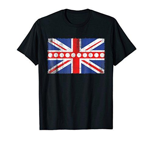 UK Flag Billard T-Shirt - Funny Billard ()