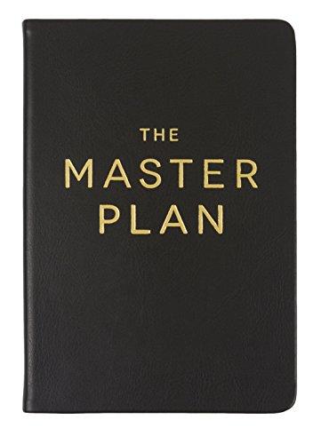 """Eccolo World Traveler 6 x 8"""" Style Journal, Master Plan (D436V)"""