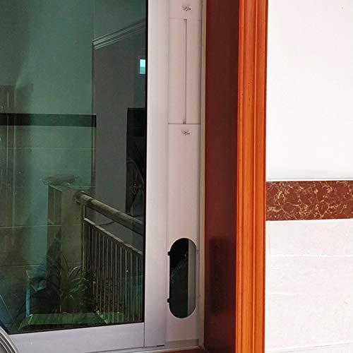 Grizack Conector para Tubo de Manguera de Escape de Placa de Kit de Ventana Ajustable para Aire Acondicionado port/átil