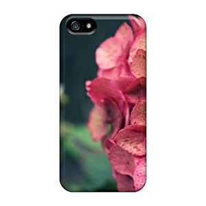 For Iphone 5/5s Premium Tpu Case Cover Pink Beauty Protective Case