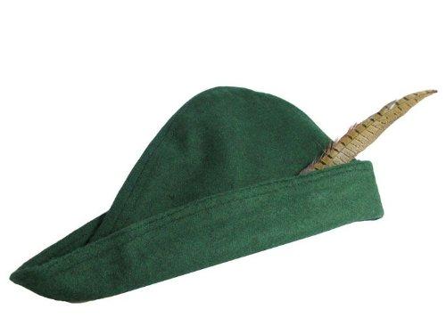 Ritterladen Der Hut Von Robin Hood Aus Wolle Farbe Schwarz
