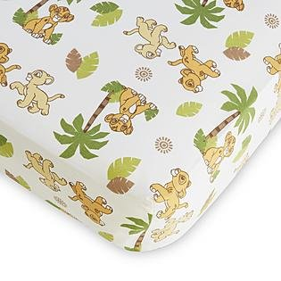 Disney Baby Lion King Fitted Crib - Baby Kings Crib Bedding
