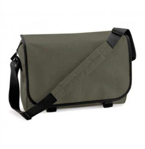 BagBase Messenger Bag, color azul, talla Talla Unica Orange Graphite