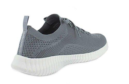 Skechers Heren Elite Flex - Ibache Grijze Sneaker - 11.5