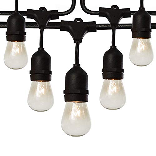 Feit Outdoor String Lights Not Working: Fulton Illuminations S14 Outdoor String Lights, 48 Feet