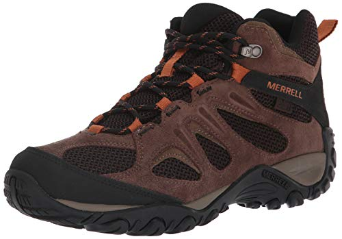 Merrell Men's Yokota 2 MID Waterproof Hiking Boot, Bracken, 8.5 M US