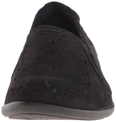 Cobb Hill Rockport Donna Nina-ch Nero Piatto