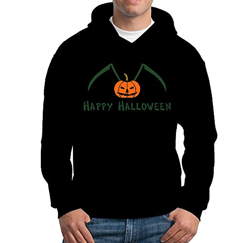 Jozie Men's Sweater Happy Halloween Ii Size XL Black