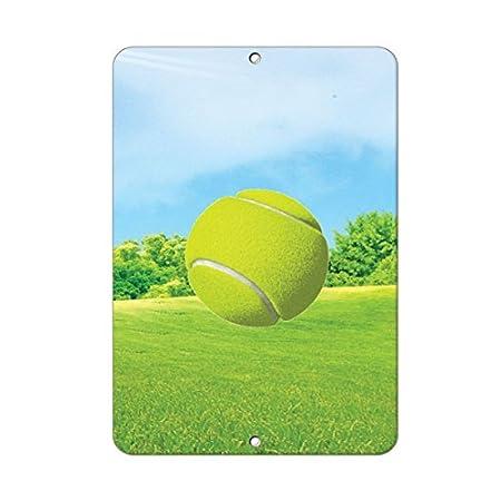 Sinluen Divertido Cartel Reflectante de Bola de Tenis para ...