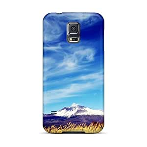 Samsung Galaxy S5 FwT1896bZdG Unique Design Fashion Snow Covered Mountain Peak Image Shock Absorption Hard Phone Case -iphonecase88